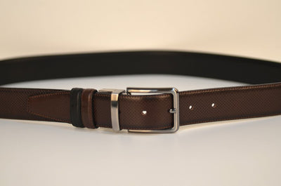 BOND 17310-2 REVERSIBLE BELT BLACK/BROWN