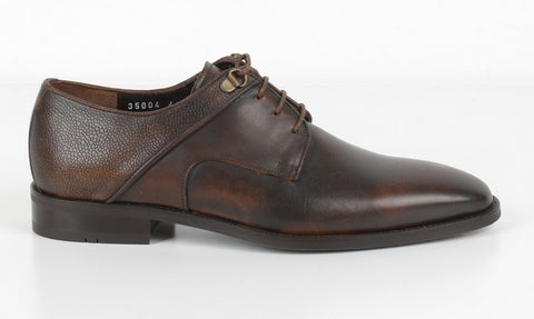 P&S MICHAEL 35004 LACE UP DERBY BROWN
