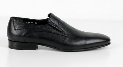 P&S MICHAEL 43402 SLIP ON LOAFER BLACK
