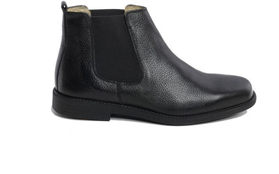 Danaci pull on casual comfort boot BLACK