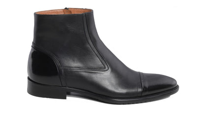 Danaci Leather Dress Boot BLACK