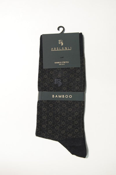 ARSLANLI AS980079 BAMBOO SOX BLACK