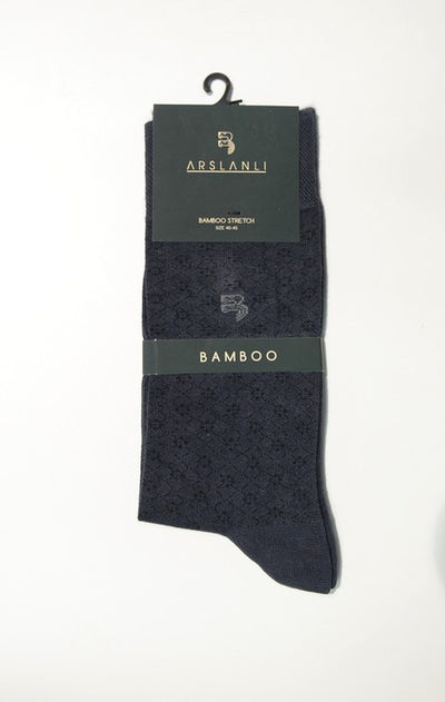 ARSLANLI AS980079 BAMBOO SOX CHARCOAL