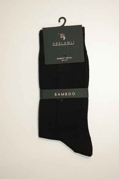 ARSLANLI AS980031 BAMBOO SOX BLACK