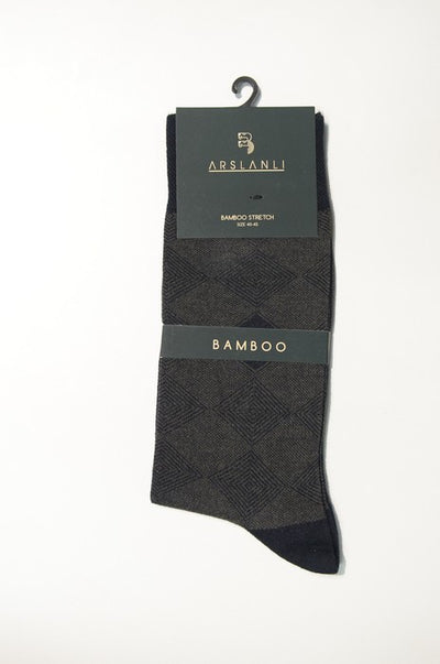ARSLANLI AS980062 BAMBOO SOX TAUPE