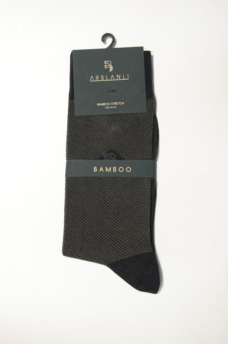 ARSLANLI AS980017 BAMBOO SOX TAUPE