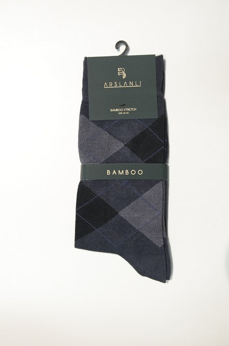 ARSLANLI AS980024 BAMBOO SOX CHARCOAL