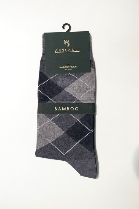 ARSLANLI AS980024 BAMBOO SOX GREY
