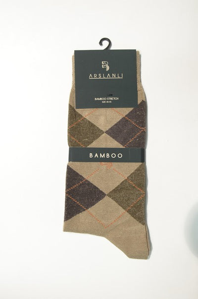 ARSLANLI AS980024 BAMBOO SOX BEIGE
