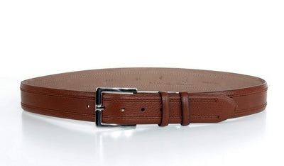 P&S MICHAEL 38MM LEATHER BELT TAN