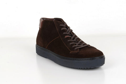 RIVALI 7596 SUEDE LEATHER LACE UP BOOT BROWN