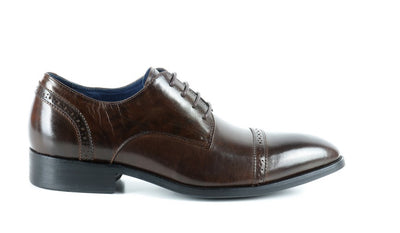 PSM LACE UP DRESS SHOE BROWN