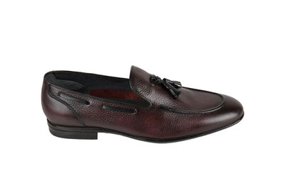 PSM SLIP ON TASSLE LOAFER BORDO