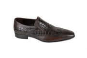 PSM SLIP ON 2 TONE LOAFER BROWN
