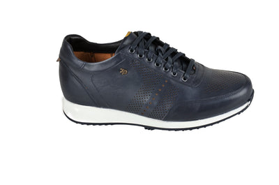 DR.ANATOMIC FLEXER LACED SNEAKER NAVY