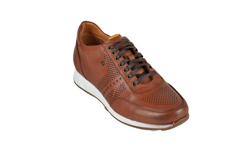 DR.ANATOMIC FLEXER LACED SNEAKER BROWN
