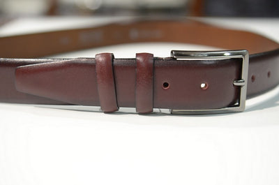 BOND 1900 LEATHER BELT BROWN