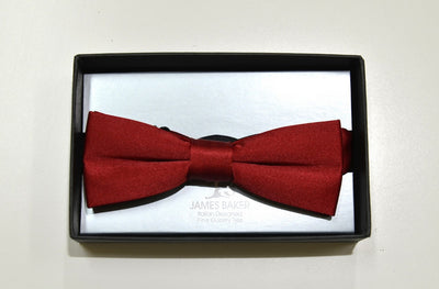 Hansarde Fashion Bow Tie RED