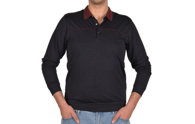 KERASUS 14110 3 BUTTON POLO NAVY