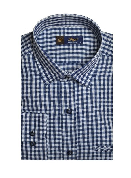 DIGO 2154 CHECK SHIRT NAVY