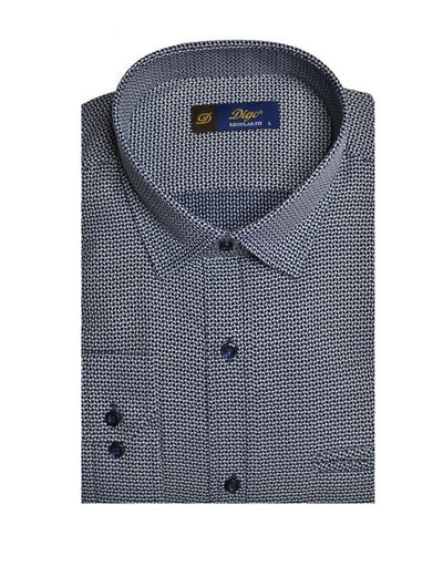 DIGO 450 MINI CHECK CITY SHIRT NAVY