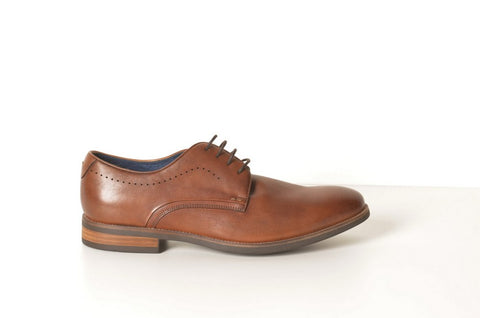 FLORSHEIM NIMBUS PLAIN TOE DERBY TAN