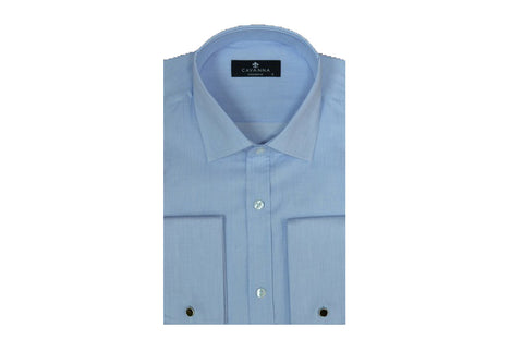 CAVANNA 9125 FRENCH CUFF CITY SHIRT SKY