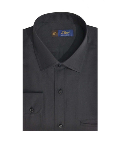 DIGO 9309 JACQUARD CITY SHIRT BLACK
