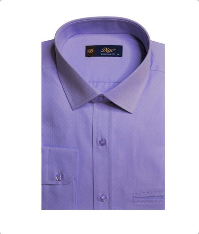 DIGO 9309 JACQUARD CITY SHIRT LILAC