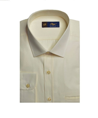 DIGO 9309 JACQUARD CITY SHIRT CREAM