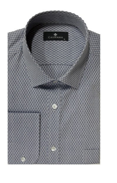 CAVANNA 9148-5 TWO WAY CUFF CITY SHIRT CHARCOAL