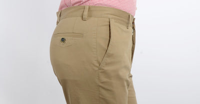 Rabin Cotton Stretch Chino CAMEL