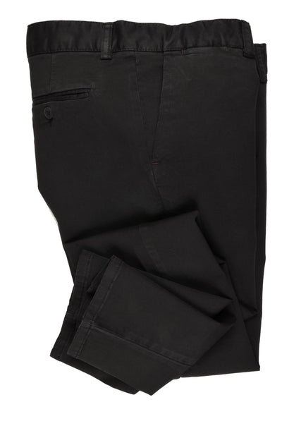 CANELIA SLIM STRETCH CHINO. BLACK
