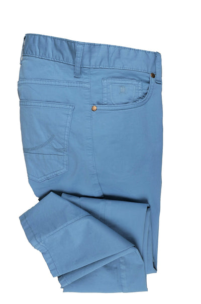 CANELIA SLIM STRETCH CHINO BLUE