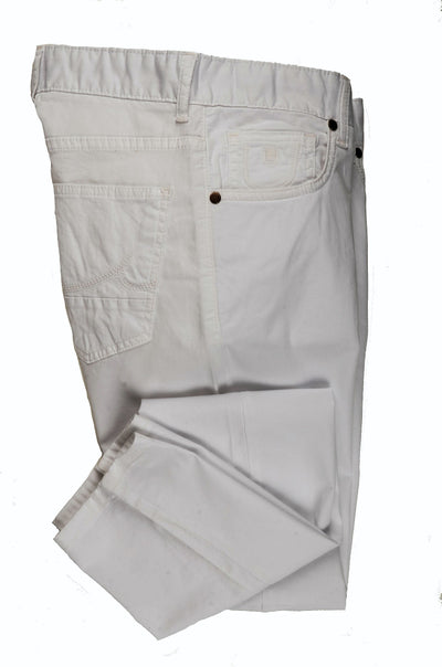 CANELIA SLIM STRETCH CHINO WHITE