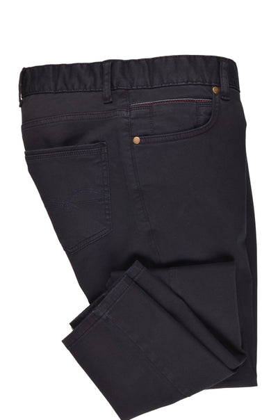 CANELIA STRETCH CROSS POCKET CHINO NAVY
