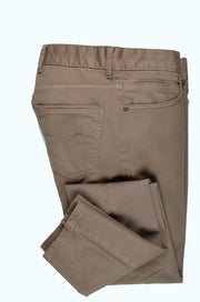 CANELIA STRETCH CROSS POCKET CHINO KHAKI