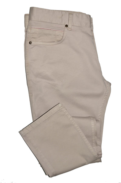 CANELIA STRETCH CROSS POCKET CHINO STONE