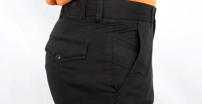 NOVIO STRETCH CHINO BLACK