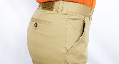 NOVIO STRETCH COTTON CHINO BEIGE