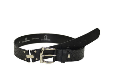 PSM 38mm Leather Belt BLACK