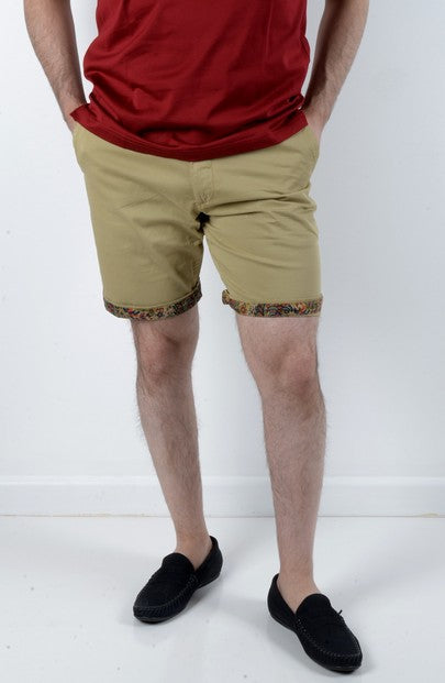 DAVID SMITH KIRRA STRETCH SHORT KHAKI