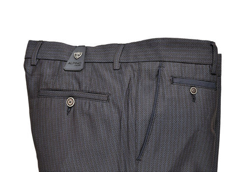 ALPINO LEONE SEMI SLIM FIT TROUSER NAVY