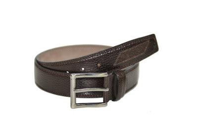 PSM 38mm Leather Belt BROWN