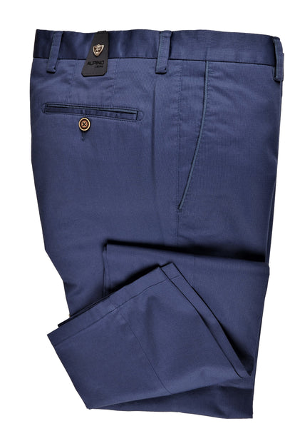 ALPINO LEONE STRETCH CHINO PANT. BLUE