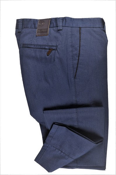 ALPINO LEONE STRETCH CHINO PANT BLUE