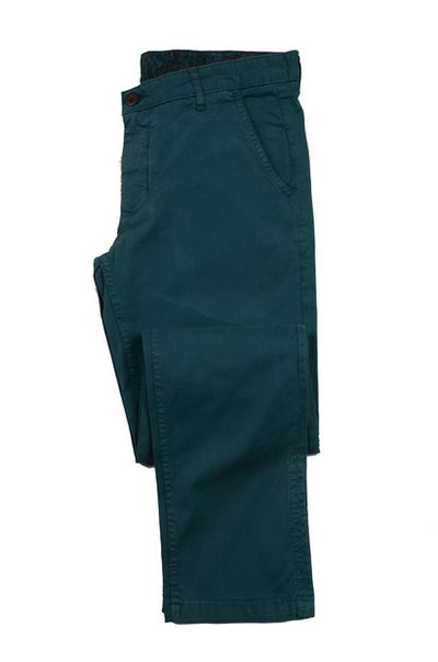 DAVID SMITH SLIM STRETCH CNINO TEAL