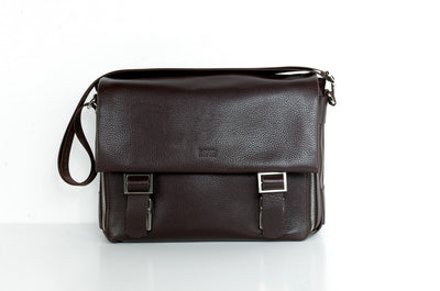 BOND 1379 LEATHER BAG BROWN
