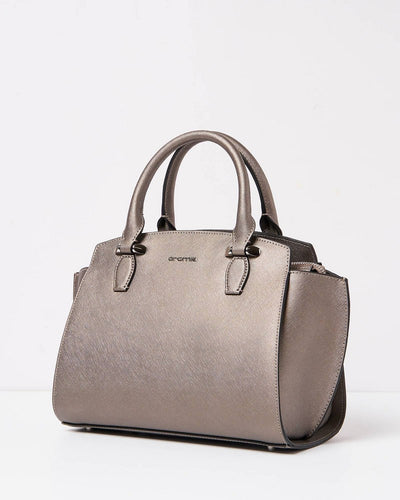 Cromia 1403834 Perla Top Handle Bag BRONZE