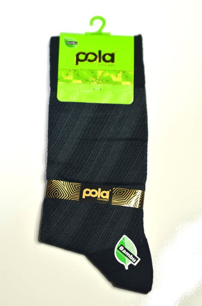 POLA BAMBOO PATTERNED SOX INK